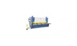 Hydraulic variable angle cutting shear