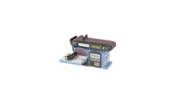 Belt and disc sanding machines