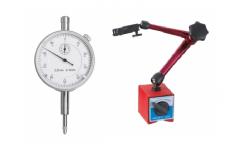 Ciferblatiniai indikatoriai / magnetiniai matavimo stovai